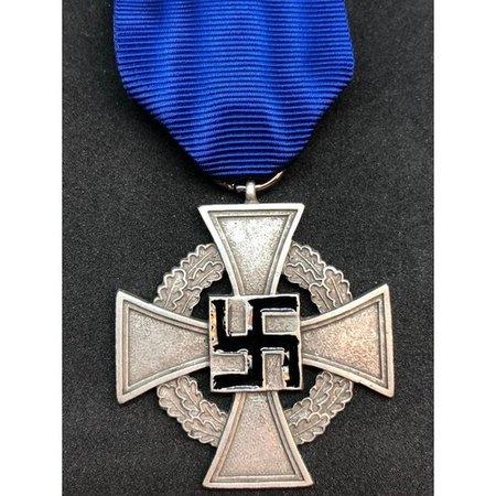 25 jaar loyale dienst medaille
