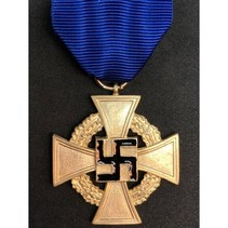 40 jaar loyale dienst medaille