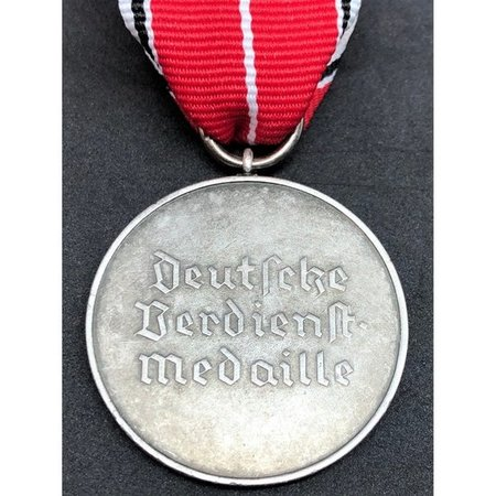 Duitse dienst medaille