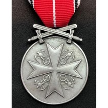 German service medal with swords