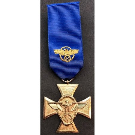 Nazi politie 25 jaar dienst medaille 1ᵉ Klasse