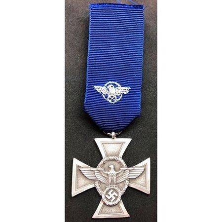 Nazi politie 18 jaar dienst medaille 2ᵉ Klasse