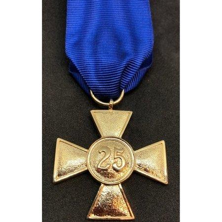 Wehrmacht 25 jaar dienst medaille