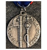 Two people one war medal