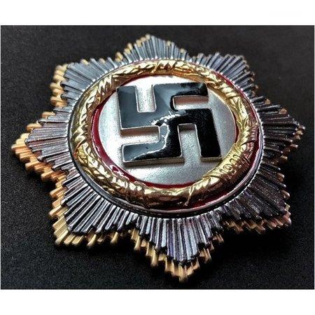 Duitse kruis broche goud