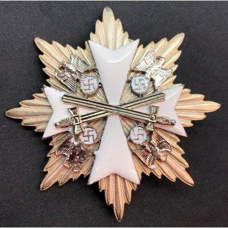 Orde van de Duitse adelaar ster broche zwaarden