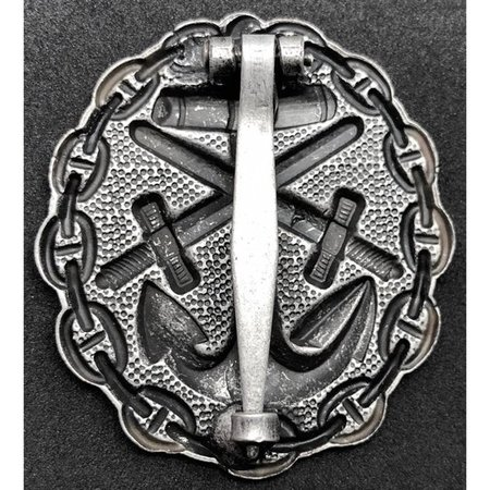 Navy wounded in combat badge