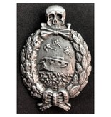 Panzer WO1 badge zilver
