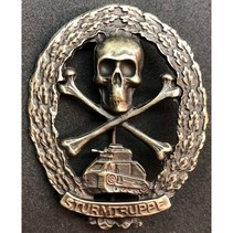 Panzer sturmtruppe WW1 badge