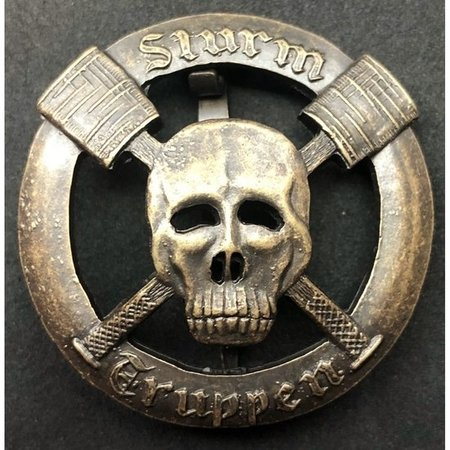 Sturmtruppen badge brons