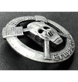 Sturmtruppen badge zilver