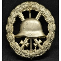 Wounded in combat 1915-1918 badge goud