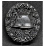 Infanterie verwonding WO1 badge zwart