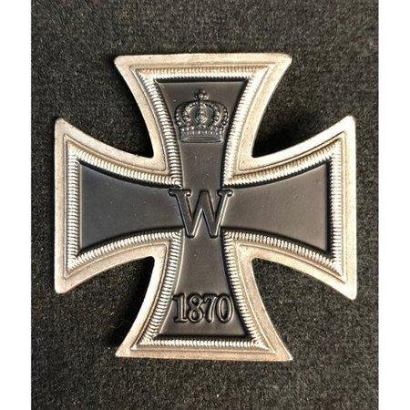 Iron cross 1870 broche 1ᵉ Klasse