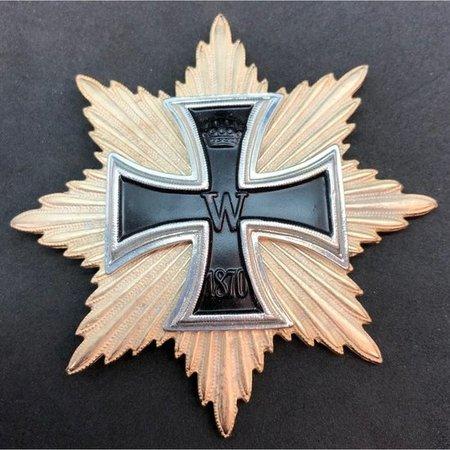 Grote kruis 1870 ster broche
