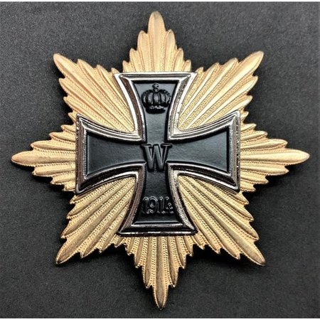 Grote kruis 1914 (Hindenburg) ster broche