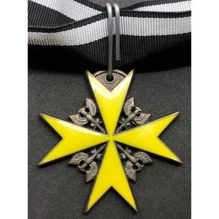 Pour le Mérite medaille geel