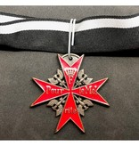Pour le Mérite medal red