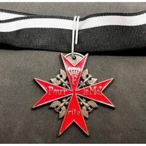 Pour le Mérite medaille rood
