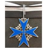 Pour le Mérite medal blue