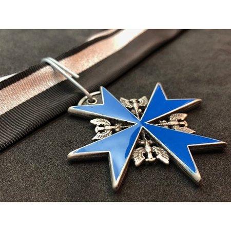 Pour le Mérite medaille blauw