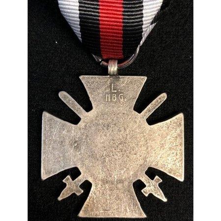 Hindenburg cross medal silver