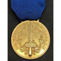 Italiaanse Sociale Republiek militaire moed medaille goud