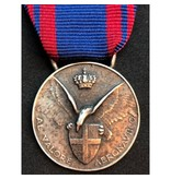 Italiaanse luchtmacht medaille zilver