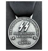 SS 1ᵉ Bersaglieri vrijwilligersbataljon medaille