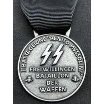 SS 1ᵉ Bersaglieri volunteer brigade medal
