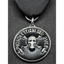 Musketiers van Mussolini medaille