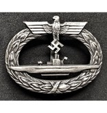 U-boot badge silver