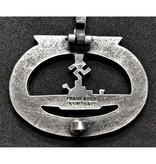 U-boot badge zilver