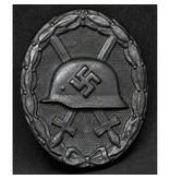 Wehrmacht verwonding badge zwart