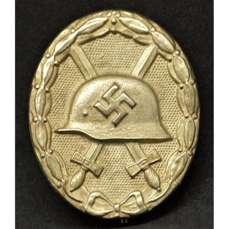 Wehrmacht verwonding badge goud