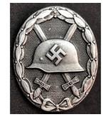 Wehrmacht verwonding badge zilver