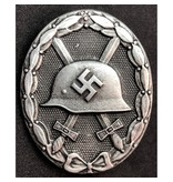 Wehrmacht wounded in combat badge silver