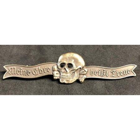 SS leus badge brons