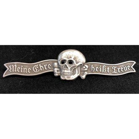 SS leus badge zilver