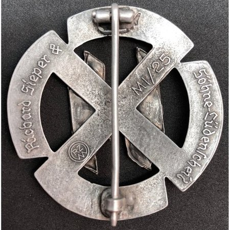 SS sport badge silver