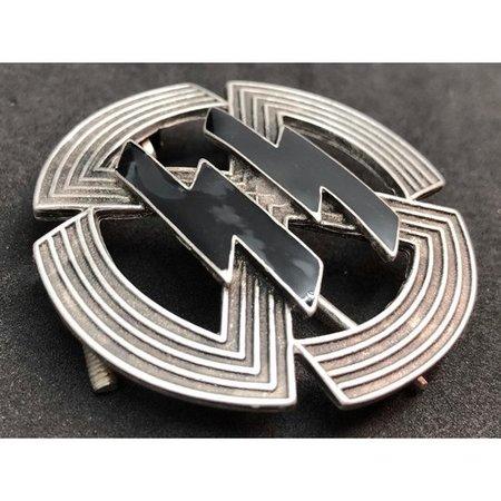 SS bekwaamheid badge zilver