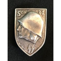 SS soldier badge