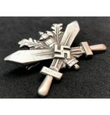 Nazi Duitsland trainingsbadge zilver
