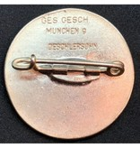 Gouden nazi partij badge voor vrouwen