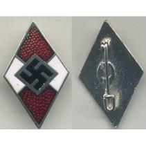 Hitlerjugend badge rood