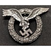 Luftwaffe piloot badge rond