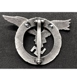 Luftwaffe piloot badge rond