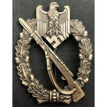 Infanterie aanvals badge brons