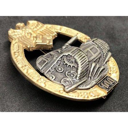 Panzer divisie 100 aanvallen elite badge
