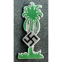 Afrika Korps badge green